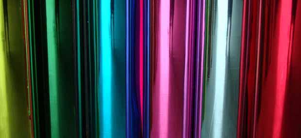 Materiais película coloridas para seu ambiente